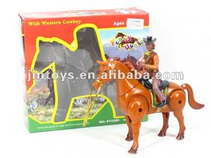 Battery Operated Horse with cowbow
