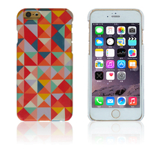 Color mixing colorful geometry custom phone case for iphone 6s plus