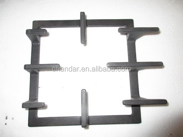 gas cooker burner parts/ gas stove burner cooktop/ cast iron pan support