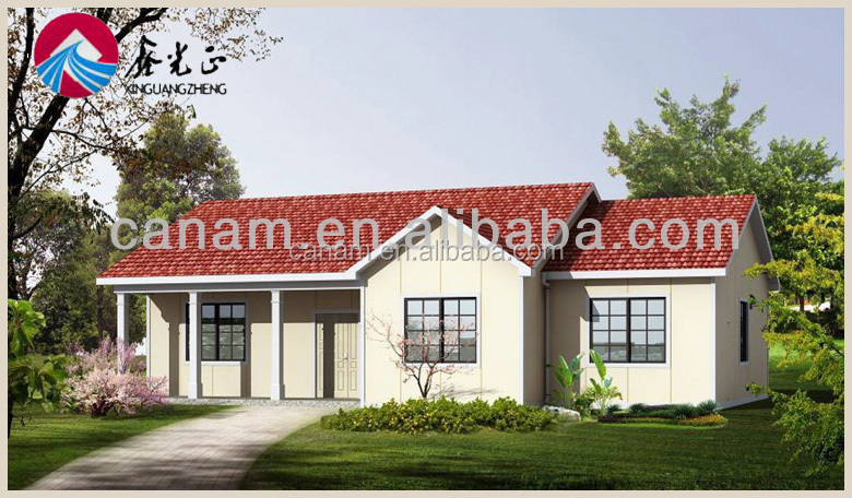 CANAM-Good looking modern fashion prefabrique maison villa for sale