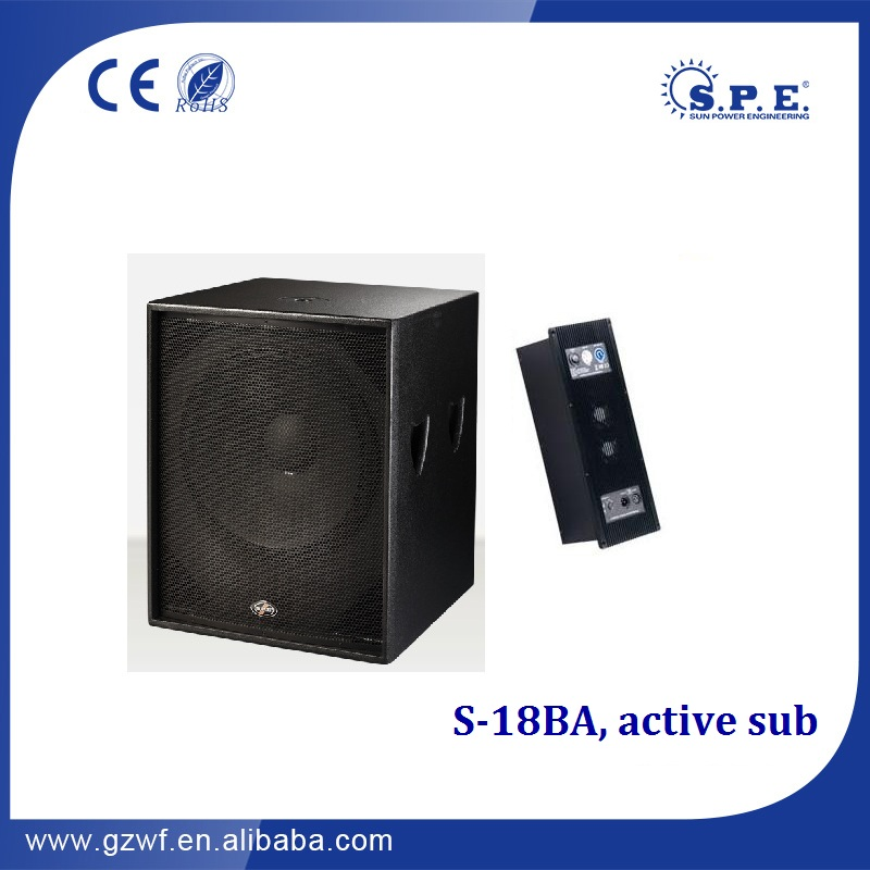 chinese active speakers guangdong sound upa-1p dj sound box