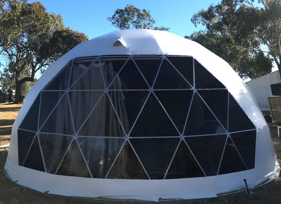 גדול חיצוני glamping מלון הגיאודזית כיפת אוהל משפחת קמפינג