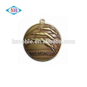 Swimming sports medals enamel medal sport
