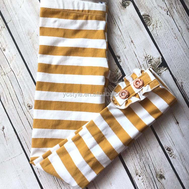 baby girl leggings for kids clothing,boutique stripe legging pants