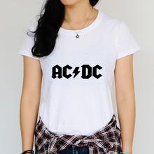 29f1f94c7 Xinsangtu 2017 AC/DC band rock T Shirt women's acdc Graphic T-shirts Print  Casual Tshirt O Neck Hip Hop Short Sleeve cotton Top