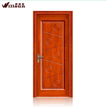 Best quality rubber finger joint wood door solid wood full for Finger joint wood doors