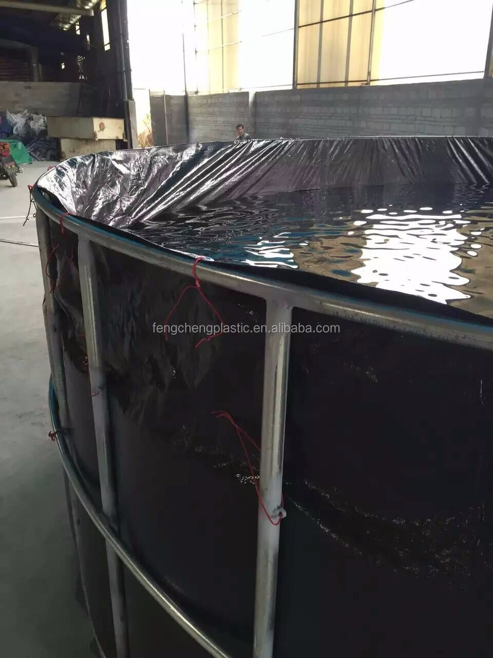 Reinforced Woven Polyethylene Pond Liners Thick Black