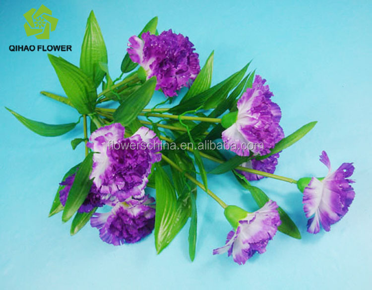 Flower Designs Fabric Painting Carnation With Fabric Flowers Making