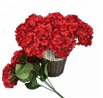 Isevian Tianjin Wholesale Decorative Flower Artificial Hydrangea