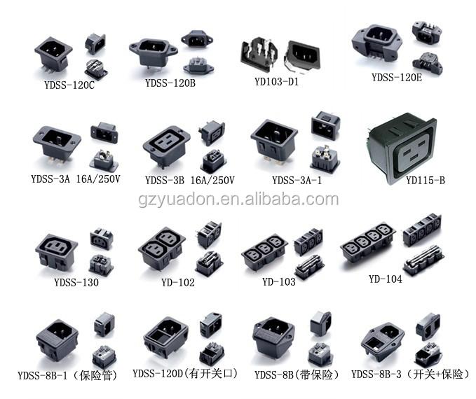 Iec 320 C20 Rewirable Connector Socket Ac Power Plug - Buy ...