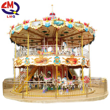 Limeiqi horse riding simulator kids toy carousel for children games