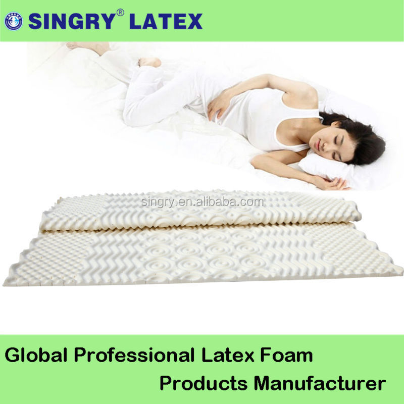 super soft bed latex foam mattress toppers