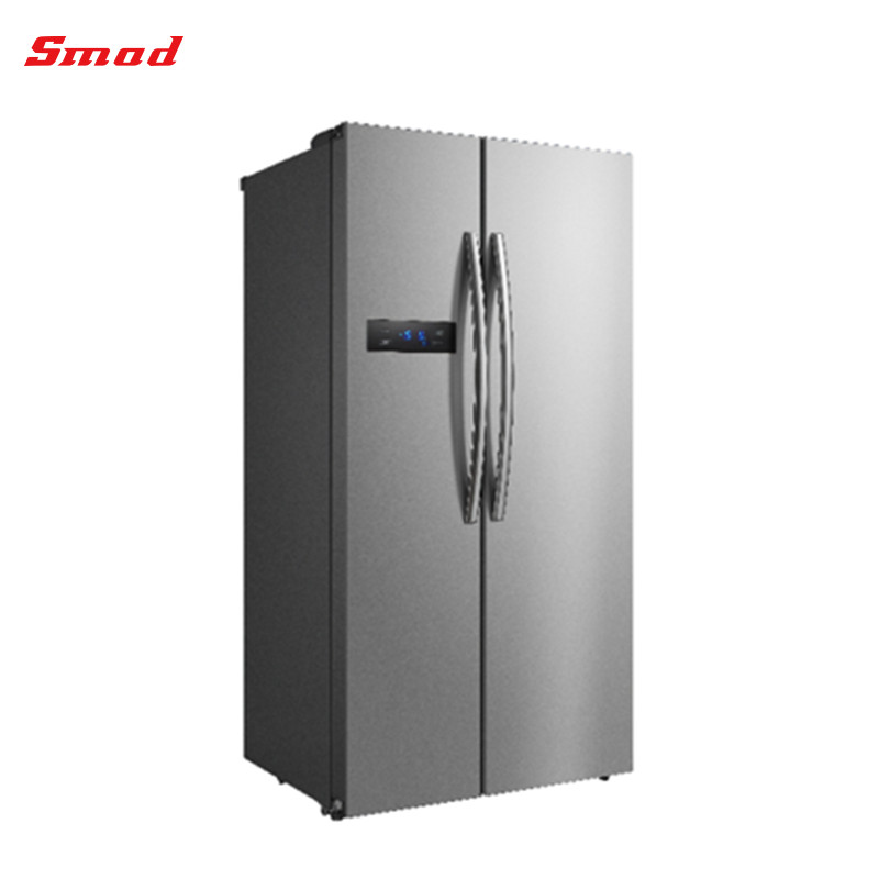 Australia Market Home appliance Stainless Steel Side By Side Refrigerator With Different Style Handle