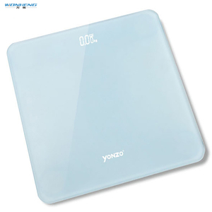 Square Shape Hidden LED/LCD Display Scale Body Personal Scale