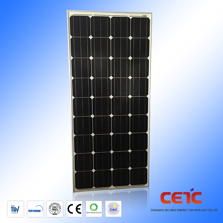 New Products Most Popular pv 175w Monocrystalline Solar Panel for roof