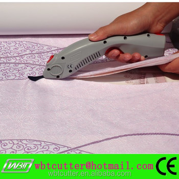 electric fabric scissors
