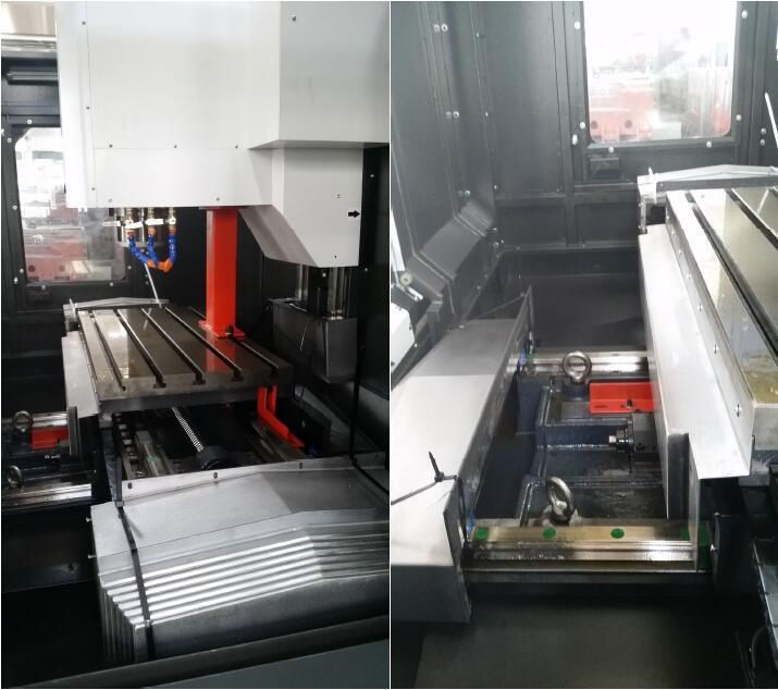 4 Axis Cnc Milling Machine Vmc 850 Cnc Vertical Machining