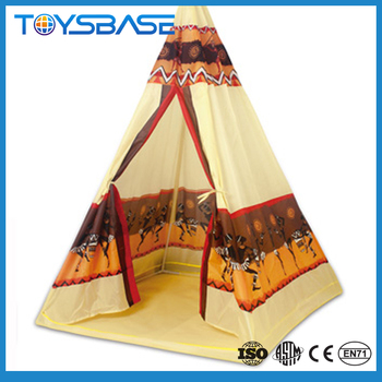 Kids Play Tent House - Luxury Indoor Play House Indian Tipi Tent Pop ...