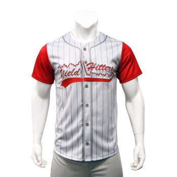 Custom Blank Wholesale Sublimation Stripe Baseball Uniform