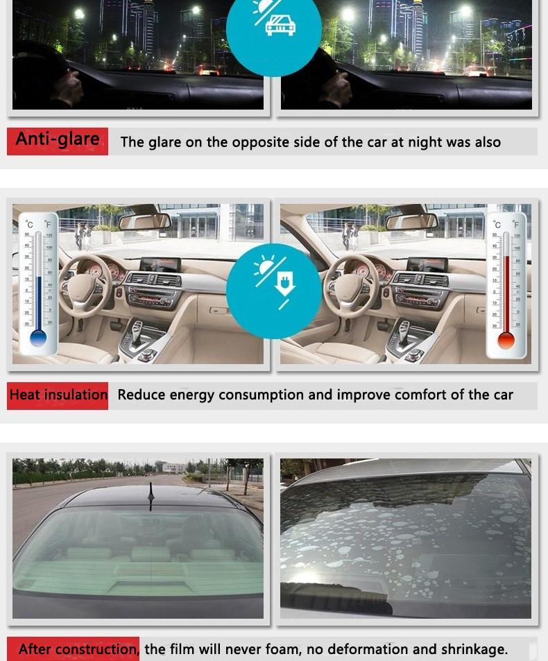 Anti-scratch-professionelle Auto Fenster Film UV 400 serie nano keramik 100% UV blockieren solar farbton filme