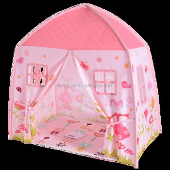 CE Certification Lovetree Cotton Canvas Fabric Kids Princess Playhouse Tent Picture Castle Play Tents  sc 1 st  Alibaba & Ce Certification Lovetree Cotton Canvas Fabric Kids Princess ...