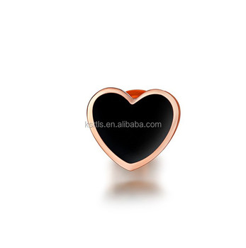 Wholesale High Quality Custom Hard Enamel Lapel Pins Heart Shaped Blank  Metal Rose Gold Plating Lapel Pins - Buy Lovely Heart Shape Brooch,Rose  Gold