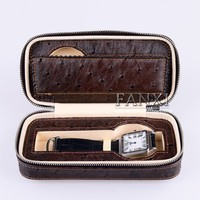 FANXI Fashionable Wholesale PU Leather Watch Collection Packet Box Jewelry Carrying Storage Portable Watch Package Case