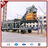 Yhzs35 Small 35M3/H Ready Mixed Used Concrete Mobile Batching Plant For Sale