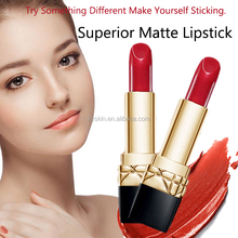 Hot Selling Beauty Cosmetica <span class=keywords><strong>Lippenstift</strong></span> <span class=keywords><strong>Distributeurs</strong></span> Loslaten Waterdichte Kus Proof Custom Groothandel Lipstick Matte Private Label