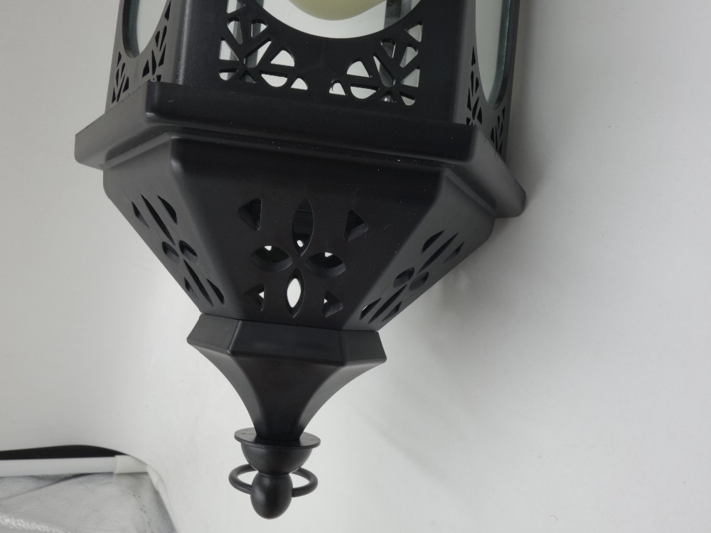 Antique Decorative Hanging Outdoor Candle Lantern