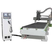 Double Spindle CNC Router dengan Drilling Group dan Double Station Hot Sale