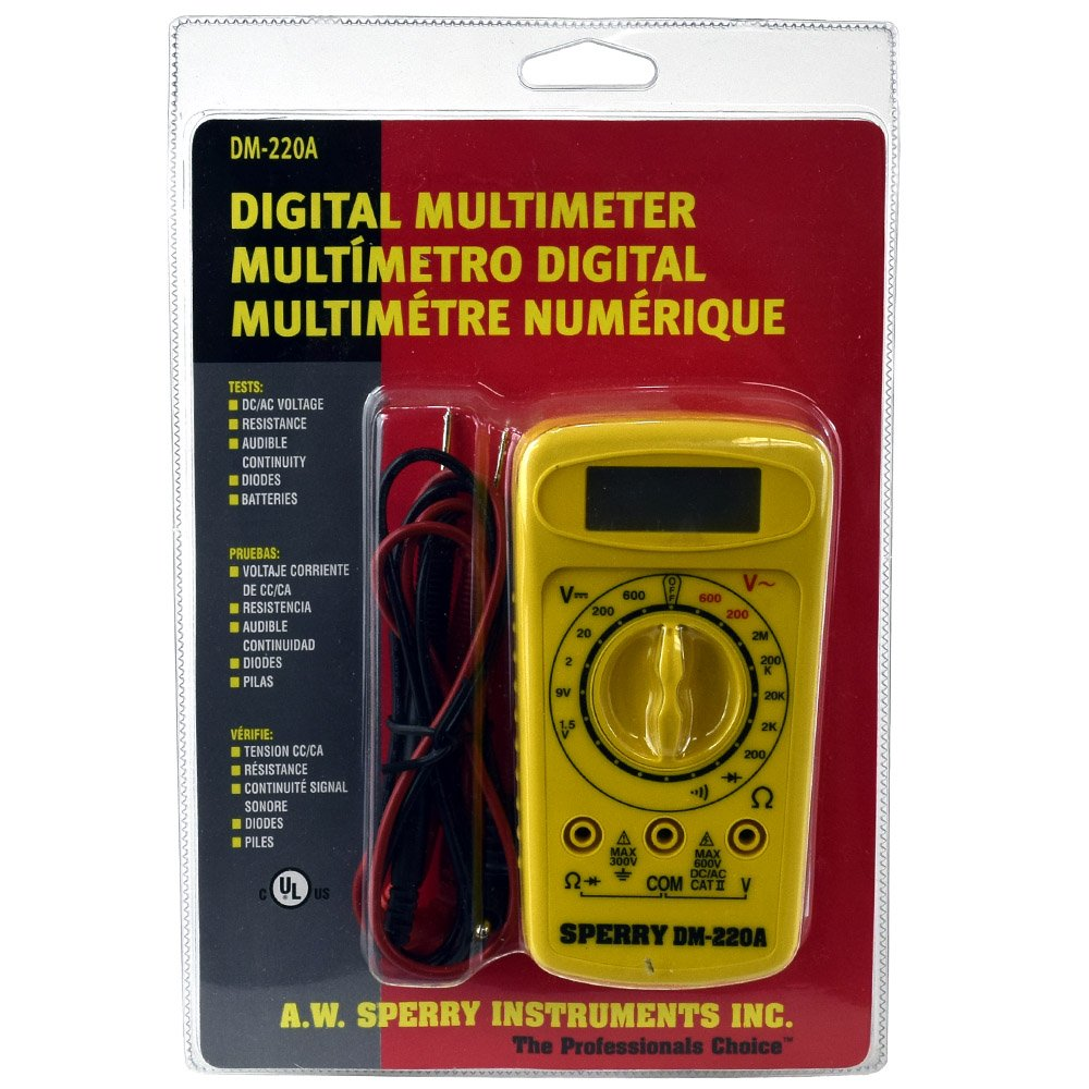 Cheap sperry multimeter find sperry multimeter deals on line at aw sperry dm 220a 6 function digital metermultimeter buycottarizona Images