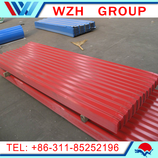 color printed corrugated steel sheet/steel sheet scrap/galvanised corrugated steel sheet