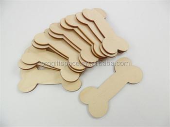 2018 dog bones unfinished wood dog bone shape made in china buy