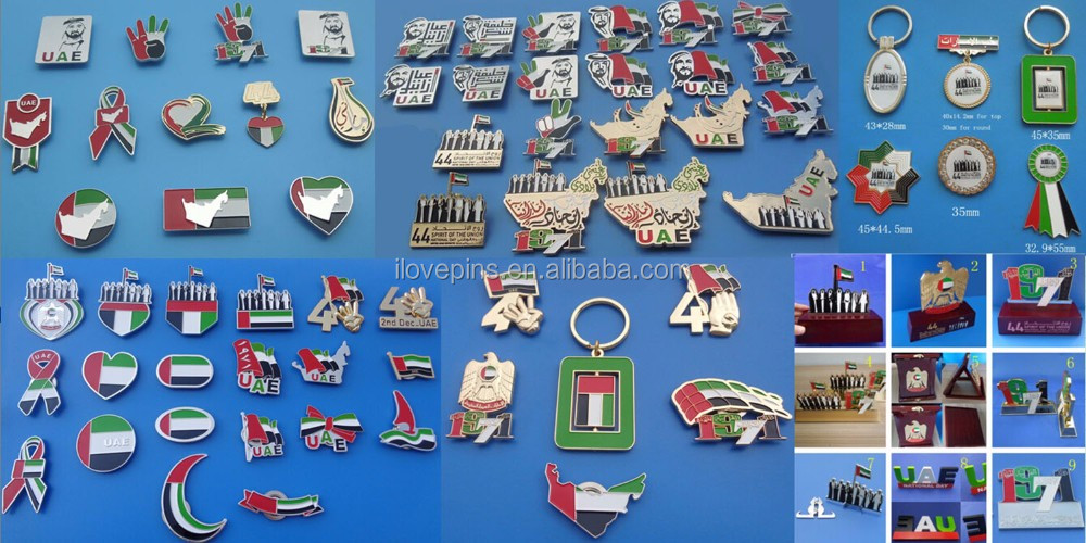 1 shaped custom OMAN/KUWAIT/SAUDI ARABIA/QATAR/BAHRAIN Lapel pin