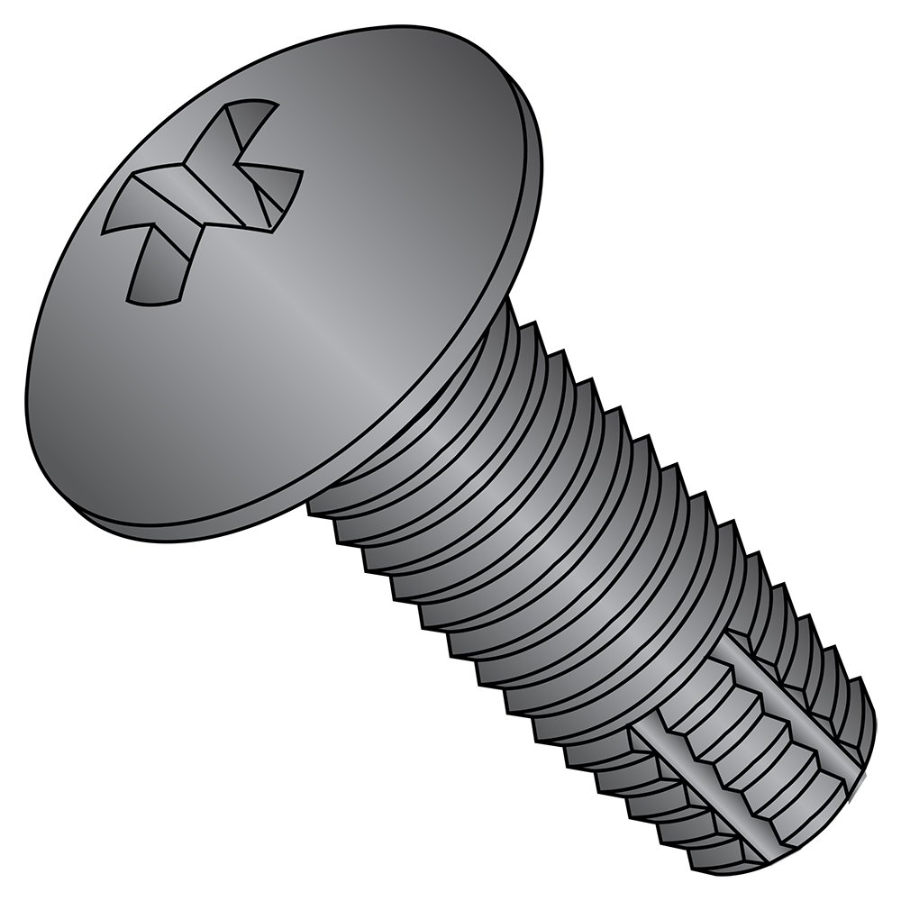 Phillips Drive Steel Thread Cutting Screw 5//16-18 Thread Size Zinc Plated 5//16-18 Thread Size 3//4 Length Pack of 25 Pack of 25 Small Parts 3112FPF 3//4 Length 82 Degree Flat Head Type F