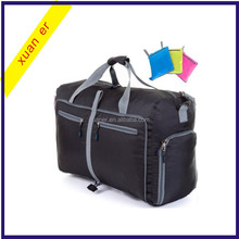 Hot selling cheap foldable luggage travel duffle bag for men and women