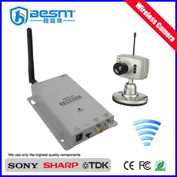 Besnt very hot sell wireless camera set with wireless receiver kit mini camera BS-W222