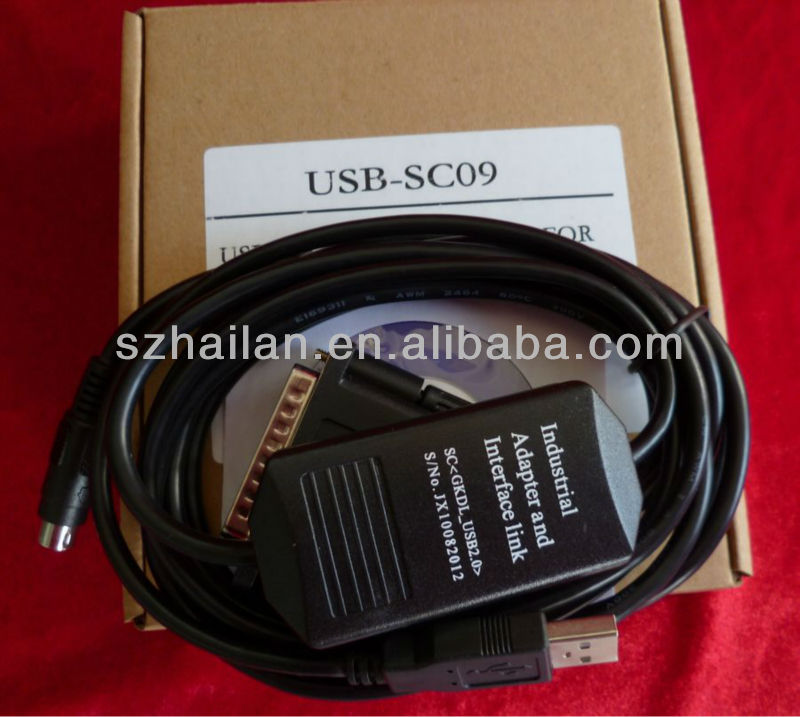 PLC Communication Cables USB-SC09