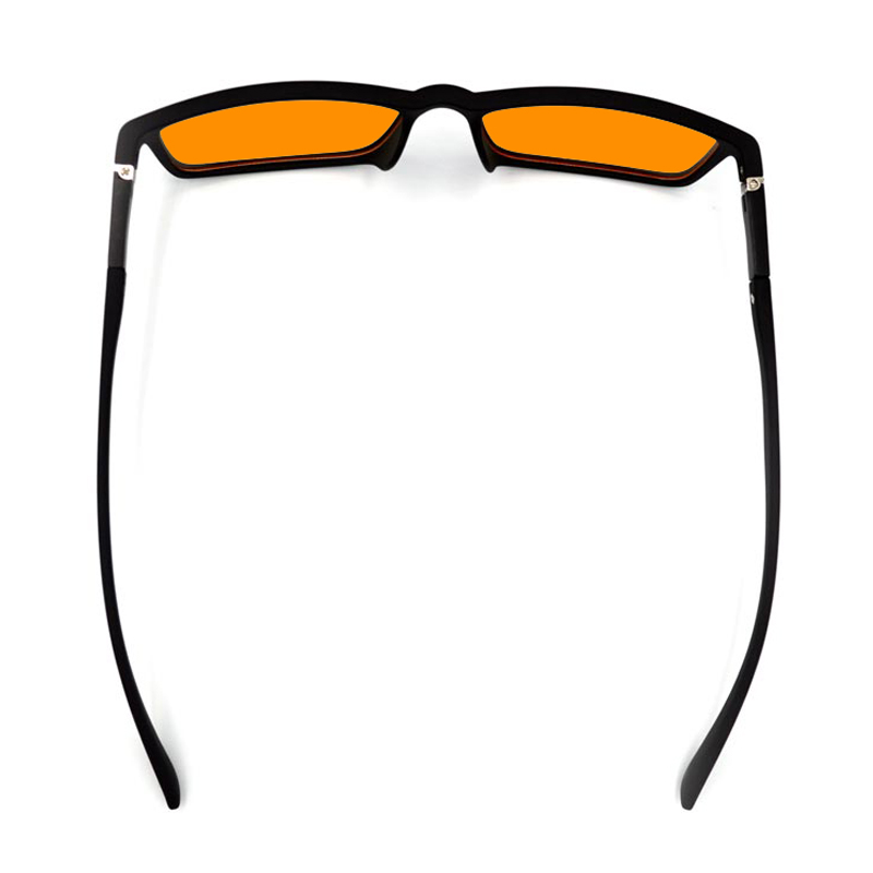 Spring Hinges Blue Light Blocking Glasses 100% Blue Light Glasses TR90 Computer Reading Glasses