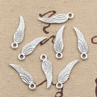 Angel wings charms wholesale angel charms zinc alloy wings charms pendant
