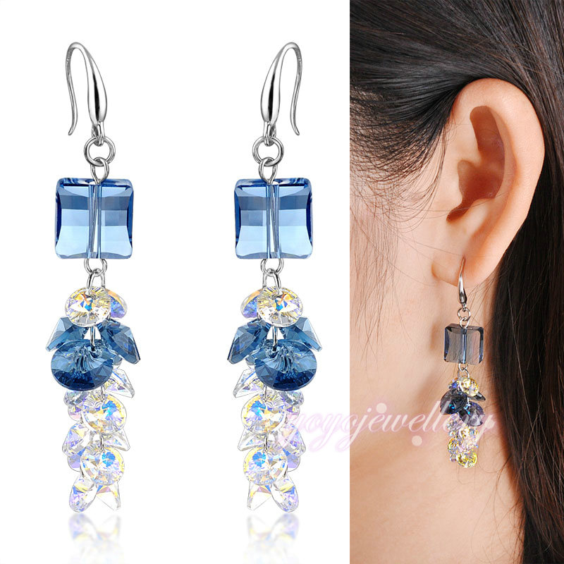 Ladies accessories sale on allibaba com gold fancy earrings for party girls