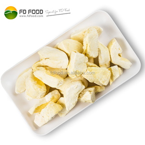 Bulk Packing Dried Durians Freeze Dried Durian Chips FD Durian Fruit For Sale