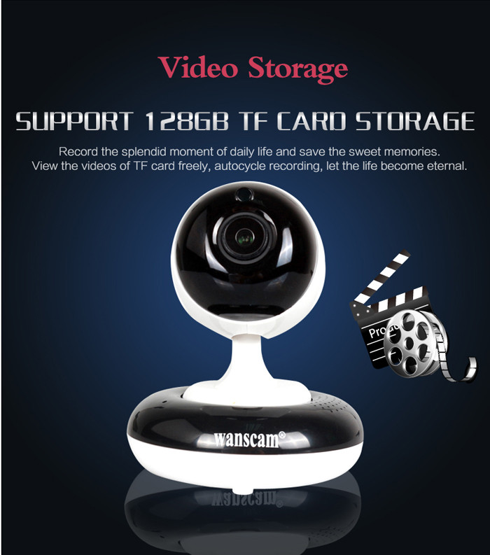 HD 960P 3x optical zoom mini indoor use p2p wifi ip camera