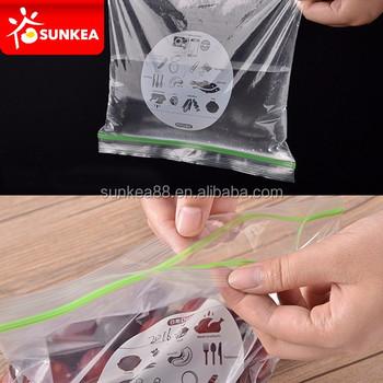 Double Ziplock Storage Transparent Plastic Zipper Bags Buy Plastic