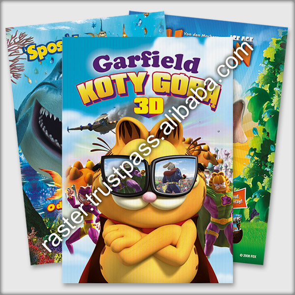 3d print lenticular dvd cd cover book lenticular cover custom