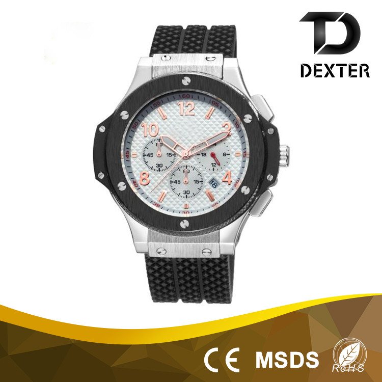 Factory price cheap colorful stainless steel watch back case mens watch excellence quartz