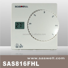 Cheap electronic floor heating thermostat with big knob