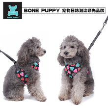2017hot Sales Walking Leash Harness & Puppy Cat Harness one Set