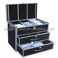 High quality aluminum 20/36/600/1000 discs CD case/CD box KL-T475